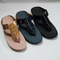 Sandal fitflop chacha 3 warna Mewah abis Sz 36-40