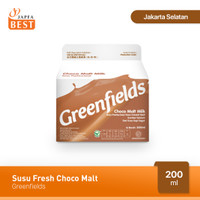 Susu Fresh Choco Malt Greenfields 200 ml
