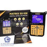 Satelit Finder SX 108 Matrix Tracking LNB Parabola Receiver TV Nex