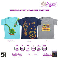 KAZEL TSHIRT - ROCKET EDITION