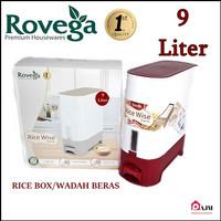 Rice box rovega 9kg/tempat penyimpanan beras