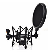 Recording Tech SH101 - Integrated Shock Mount with Pop Filter