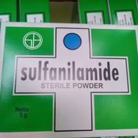 Sulfanilamide box isi 120 sachet