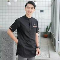 Baju koko pria dewasa lengan pendek polos original