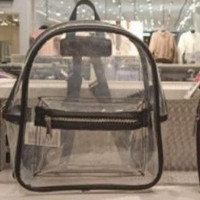 tas ransel backpack transparan H&M original branded SALE