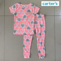 Baju Tidur Piyama Setelan Anak Perempuan Carters Love