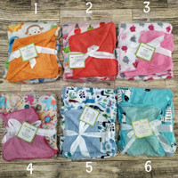 Baby Blanket Selimut Bayi Double Fleece Bahan Bulu Tebal Tanpa Topi
