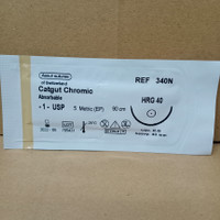 Catgut CHROMIC 1 HRG40 R.B