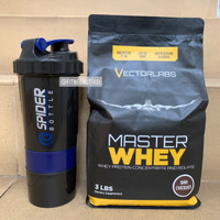 Master whey 3 lbs vectorlabs susu protein fitness gym isolate bcaa evo