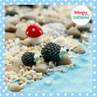 Miniature Hewan Landak SETHiasan Terrarium Taman Diorama Aquarium