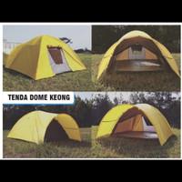 tenda dome keomg double layer 3x4 kapasitas 12 orang