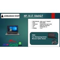 """LAPTOP HP 15 INTEL i7 1065G7 8GB 256ssd + Opt 16GB 15.6"""" WIN10"""