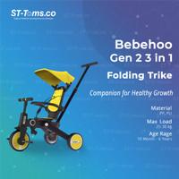 Bebehoo 2 generasi 2 3 in 1 Stroller Sepeda Bayi Lipat / Folding Trike