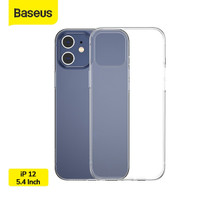 BASEUS SIMPLE CASE CLEAR TPU PHONE COVER CASING IPHONE 12