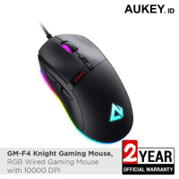 Aukey GM-F4 Knight Gaming Mouse RGB Wired with 10000 DPI - 500693