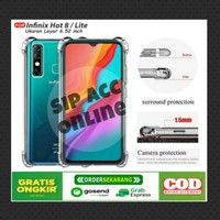 CASE ANTI CRACK INFINIX HOT 8 / SMART 4 / SMART 5 SOFTCASE
