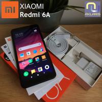 Handphone Xiaomi Redmi 6A Ram 2Gb Rom 16Gb Full set bonus mmc 32 GB