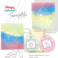 Cetakan Silicone Mold Tamagotchi Cetakan Resin Clay Kue Nail Art Wimpy