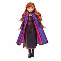 Disney Frozen Anna Fashion Doll With Long Red Hair and Outfit Inspired