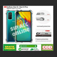 Case Anti Crack Infinix Hot 9 /Hot 9 play /Note 7 lite/ZERO 8 Softcase