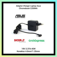 Adaptor Charger Laptop Asus Chromebook C200MA 45W Series