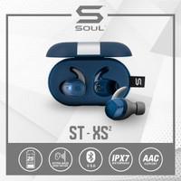SOUL ST-XS2 High Performance Earphones Headset with Bluetooth - Biru