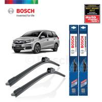 Wiper Mobil Frameless Honda Mobilio Sepasang Bosch Clear Advantage