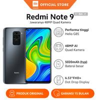 Xiaomi Official Redmi Note 9 6/128 GB Garansi Resmi Mi Smartphone - Hitam