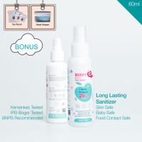 BerryC (Berry C) Active Hand Sanitizer Non alcohol tahan 28 Hari 60 ml