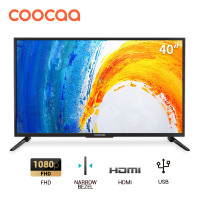 COOCAA LED TV 40 inch - Full HD Panel - Slim - USB/HDMI (Model : 40D5A