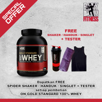 ON OPTIMUM NUTRITION WHEY GOLD STANDARD 100% WHEY PROTEIN 5 LB 5LBS