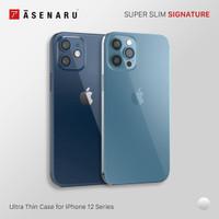 Asenaru iPhone 12/Mini/Pro/Max Clear Case Super Slim ClearFlex Casing - iPhone 12