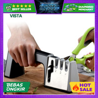 Pengasah Pisau Diamond Sharpening Wetstone Knife Tools 4 Stages -MY311