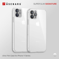Asenaru iPhone 11/Pro/Max Clear Case Super Slim ClearFlex Clear Casing - Crystal Clear,iPhone 11