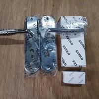 Handle kunci pintu Tanggung 20cm komplit+body silinder set lengkap