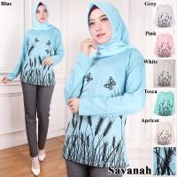 Kaos fashion/ kaos muslim/ kaos big size savanah
