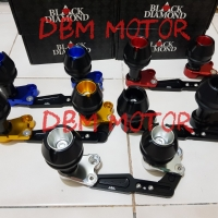 Jalu Knalpot / Slider Black Diamond Honda ADV 150.