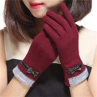 Sarung tangan musim dingin wanita/Winter touch screen gloves women