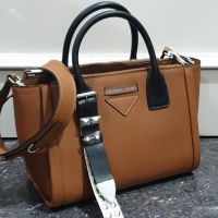 PRADA CONCEPT LEATHER HANDBAG 30CM