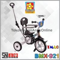 Sepeda Roda Tiga BMX Stenlis Chrome Dorongan Jagaan PMB 921 Stainless