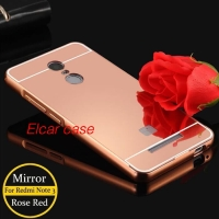 Bumper mirror allumunium hard case xiaomi redmi note 3 note3 pro