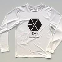 Kaos / tshirt / baju Exo from exo planet lengan panjang