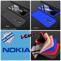Nokia 6.1 Plus Case 360 GKK - casing cover nokia