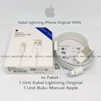 Kabel iPhone 5G 5S 6G 6S 6+ 7 7+ 8 8+ X iPad Air iPad mini Original