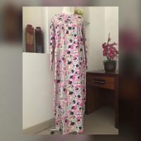 Dailly longdress flowery pink