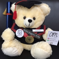 Boneka Wisuda Custom Teddy Bear Big +-50cm. BEST SELLER, BEST QUALITY