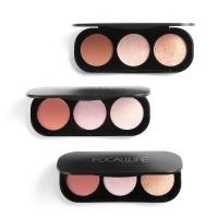 Focallure Blush and Highlighter & Bronzer Palette Original