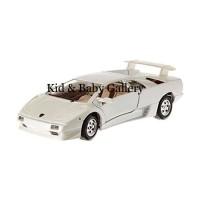 BBurago 18-22086 Lamborghini Diablo Diecast - White 1:24 MBG 013