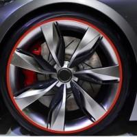 Stiker List Karet Velg Ban Mobil Aksesoris Variasi Pelindung Car Pelek