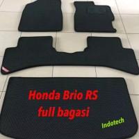 Karpet Mobil Honda Brio RS FULL BAGASI 2 Lapis